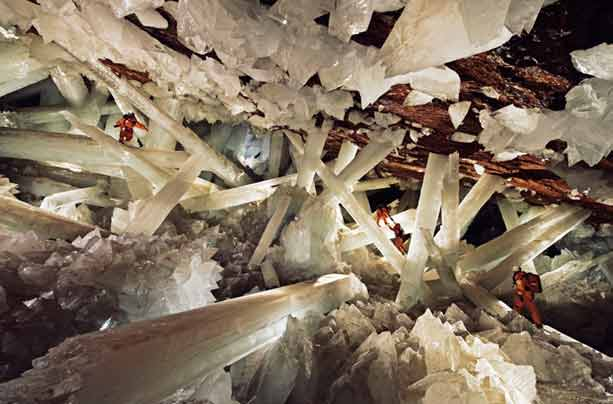 Diagram 1: Cave of Crystals, Mexico